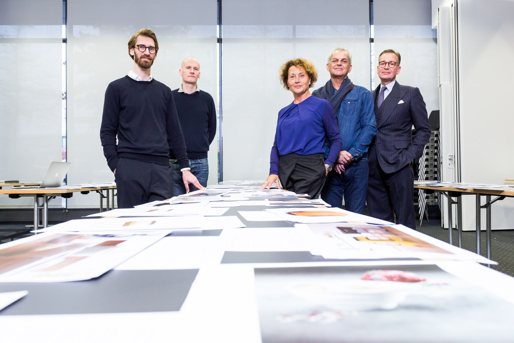 Jury of the ICONIC AWARD 2019: Innovative Interior: Benjamin Wolf, Sebastian Wrong, Barbara Friedrich, Giulio Ridolfo, Andrej Kupetz